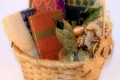 Christmas Basket of Towels